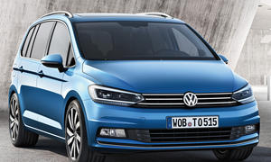 VW Touran Kompaktvan Neuheiten VW Audi
