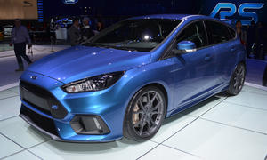 Ford Focus RS 2015 Kompakt Sportler Genfer Autosalon Bilder Allradantrieb