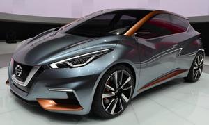 Nissan Sway Concept Kleinwagen Studie Genfer Autosalon 2015
