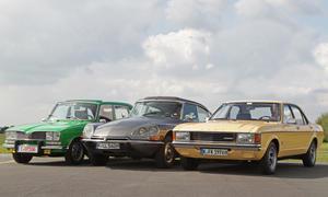 Citroen DS Pallas Ford Granada Renault 16 TX