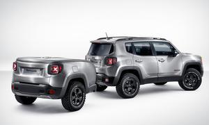 Jeep Renegade Hard Steel Concept Genfer Autosalon 2015 Studie Infotainment