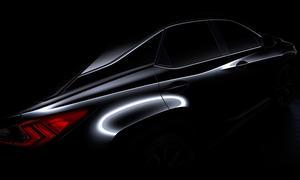 Lexus RX 2016 New York Auto Show 2015 Premiere SUV Neuheiten Crossover