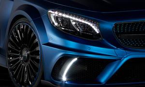 mansory mercedes s 63 amg coupe tuning sportcoupé neuheiten genfer autosalon 2015