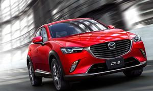 Design Trophy 2015 Leserwahl schönstes Auto Mazda CX-3 Gewinnen