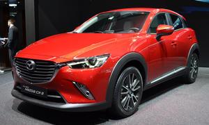 Mazda CX-3 Genfer Autosalon 2015 live SUV