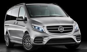 Mercedes Concept V-ision e V-Klasse Plug-in-Hybrid Genfer Autosalon 2015 Studie