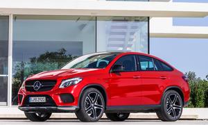Mercedes GLE Coupé Preis SUV Neuheiten Crossover
