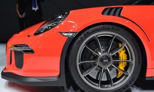 Porsche 911 gt3 rs 2015 991 autosalon genf premiere live-bilder neuheiten sportwagen topversion