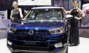 SsangYong Tivoli 2015 Genfer Autosalon Kompakt-SUV Neuheiten