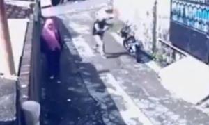 Video: Dieb vergisst Moped