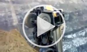 Video: Transporter am Abgrund