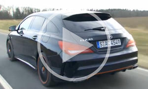 Mercedes CLA Shooting Brake im Video