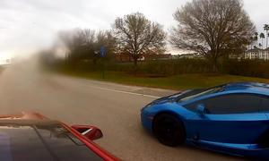 Tesla Model S P85D vs. Lamborghini Aventador
