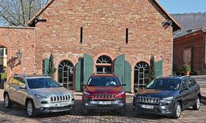 Jeep Cherokee 2015 SUV Kaufberatung Diesel Benziner Allrad Trailhawk Mittelklasse