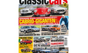 Auto Zeitung classic cars 06 2015 Cover