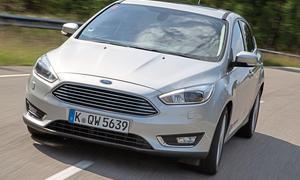 Ford Focus Facelift 2014 1.5 Ecoboost Kompaktklasse Front