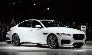 Jaguar XF 2015 Preis New York Auto Show Premiere Limousine Mittelklasse Front
