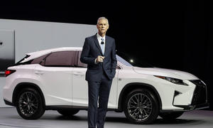 Lexus RX 2015 New York Auto Show 450h Hybrid SUV Neuheit