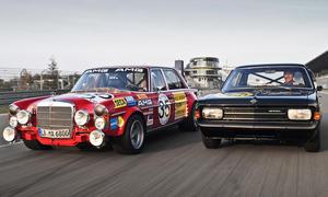 Mercedes 300 SEL 6.8 AMG Opel Rekord C Sportler Vergleich classic cars