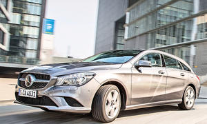 Mercedes CLA 220 CDI Shooting Brake Kompaktklasse Test