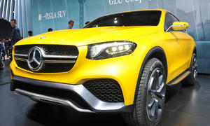 Mercedes GLC Coupé 2015 Shanghai Motor Show SUV-Coupé Auto China