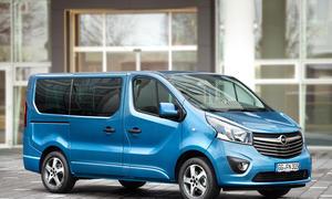 Opel Vivaro Combi Tourer Irmscher Ausstattung Seitenansicht