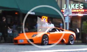 Video: Lamborghini Murcielago wird missbraucht