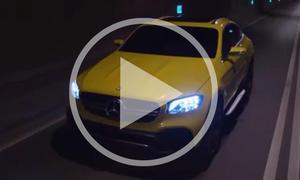 Mercedes GLC Coupe im Video