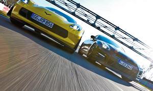 Chevrolet Corvette Z06 Nissan GT-R Track Edition Sportwagen Vergleichstest