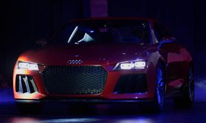 Audi Digitale Revolution Internet im Auto Entwicklung Forschung