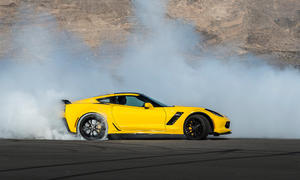 chevrolet corvette z06 2015 fahrbericht drift qualm supersportler us car