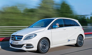 Mercedes B-Klasse Electric Drive Elektroauto Van Eco-Mobilität Test