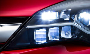 opel astra 2015 led scheinwerfer licht matrix intellilux