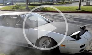 Nissan 240SX Drift-Fail