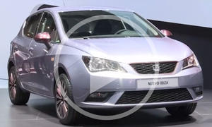 Seat Ibiza: Facelift 2015 im Video