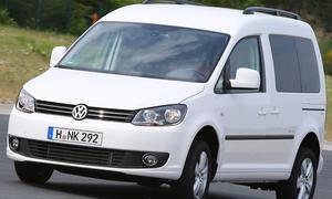 VW Caddy im Gebrauchtwagen-Check