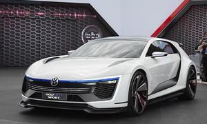 VW Golf GTE Sport Concept am Wörthersee 2015