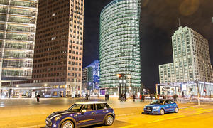 Audi A1 Sportback Mini Fünftürer Kleinwagen Vergleichstest