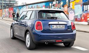 Mini Cooper Fünftürer Kleinwagen Vergleichstest