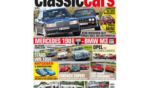 Auto Zeitung classic cars 07 2015 Vorschau Cover