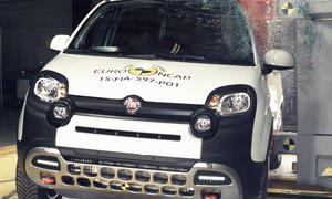 fiat panda cross crashtest euro ncap 2015 sicherheit kleinwagen crossover