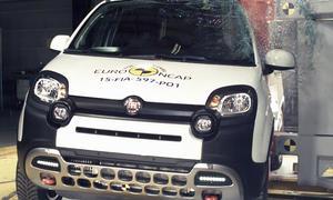 fiat panda cross crashtest euro ncap 2015 sicherheit kleinwagen crossover