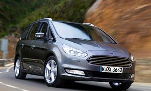 Ford Galaxy 2015 neuer Van dritte Generation Bilder Infos Familienauto Front