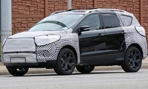 ford kuga facelift erlkoenig 2015 kompakt-suv neuheiten crossover