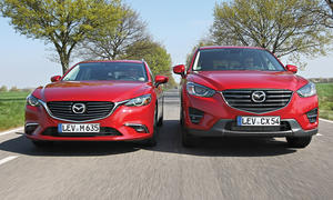 Mazda CX-5 SUV Mazda 6 Kombi Vergleich Konzepte