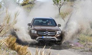 Mercedes GLC 2015 Kompakt-SUV GLK-Nachfolger Offroader
