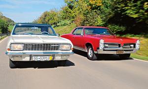 Opel Diplomat V8 Coupe Pontiac GTO Vergleich Oldtimer