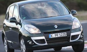 renault scénic kompaktvan gebrauchtwagen zweite Generation front fahraufnahme