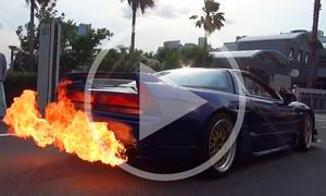 """Honda NSX im Video: """"Heisser"""" Sportwagen"""
