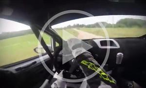 Video: Rallyefahrt im WRC-Cockpit